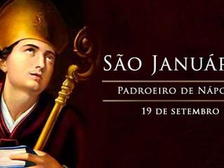 """Hoje a Igreja celebra São Januário, o santo da """"liquefação do sangue"""""""