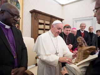 Papa aos luteranos: nunca mais rivais, o futuro é a comunhão