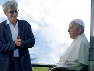 O que ninguém sabia sobre o filme de Wim Wenders e o Papa Francisco