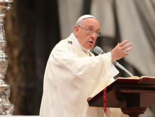 Papa Francisco alerta que há ventos violentos que atingem a Igreja