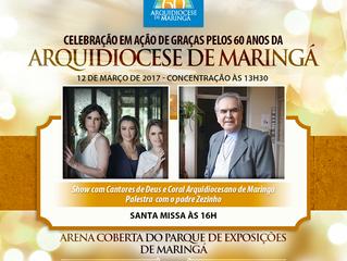 Cardeal dom João Braz de Aviz participará das celebrações dos 60 anos da Arquidiocese de Maringá