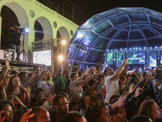 Festival Halleluya leva três dias de louvor, adoração e solidariedade ao Rio de Janeiro