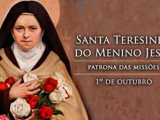 Hoje é celebrada Santa Teresinha do Menino Jesus, doutora da Igreja