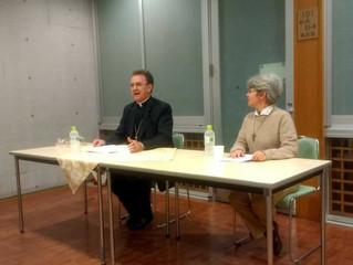 Dom Anuar palestra na Universidade Sofia, em Tóquio