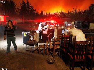 Pesar do Papa pelas vítimas de incêndios no Chile
