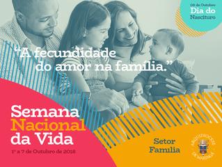 Setor Família da Arquidiocese de Maringá lança campanha da Semana Nacional da Vida