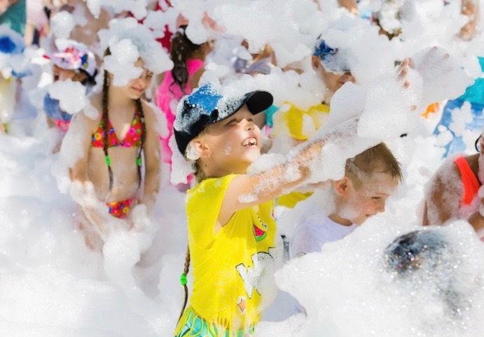 Birthday Fun Foam Dance Party