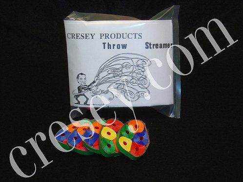 Multi Color Throw Streamers
