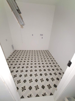 Moroccan Tile Laundry Room