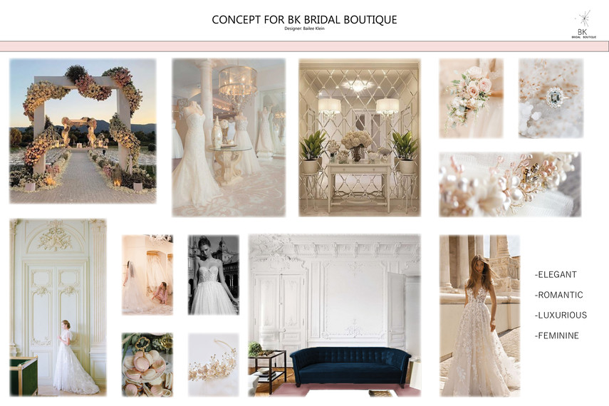 BK Bridal Boutique Concept
