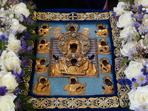 The Holy Kursk Icon of the Mother of God visited four Russian Orthodox Parishes of South Florida