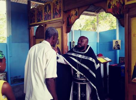 Sunday of the Publican and the Pharisee at Saint Augustine Orthodox Parish of Jacmel, February 2020