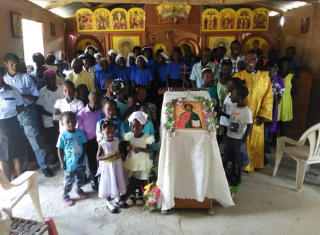 2019 Pascha at St. Irenas of Lyon Parish in Haitian Central Highlands of Maissade