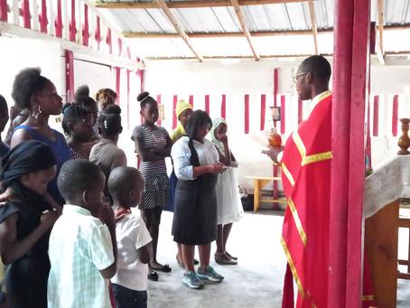 Haiti parishes celebrating Easter
