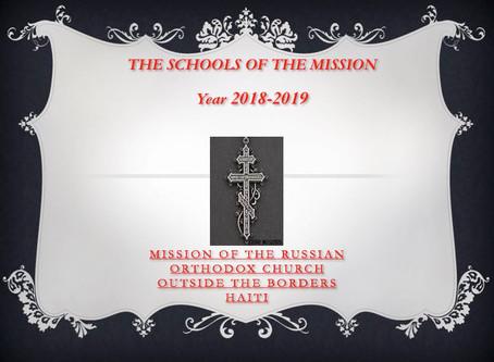 Schools of the Haiti Mission -  September 2018