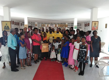 Russian Orthodox Haiti Mission Feast of Nativity of Our Lord Jesus Christ in 2019