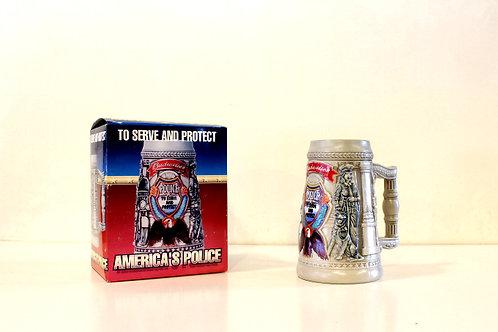 Budweiser America's Police Stein