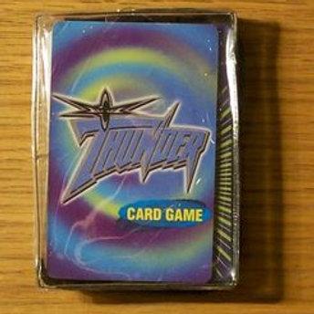 Vintage World Champion Wrestling Card Game