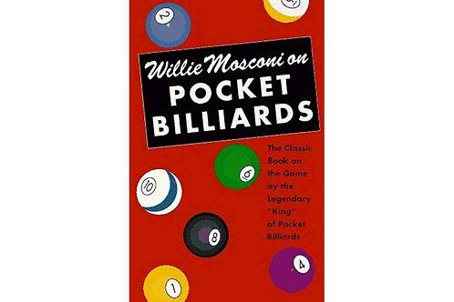 Willie Mosconi on Pocket Billiards Small Paperback | Billiard Book