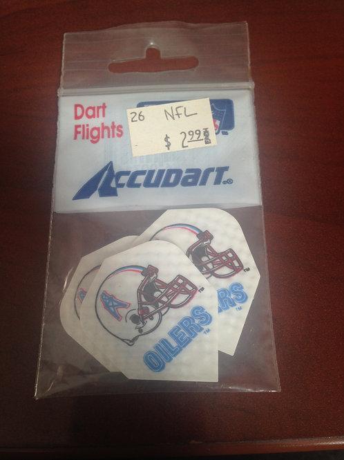 NFL Edmonton Oilers Dart Flights