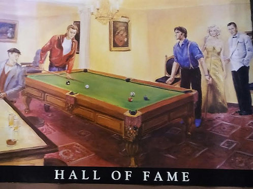 Hall of Fame poster