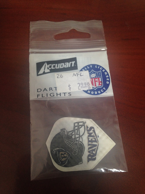 NFL Dart Flights- Baltimore Ravens