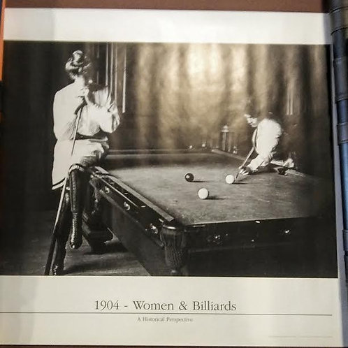 WOMEN & BILLIARDS