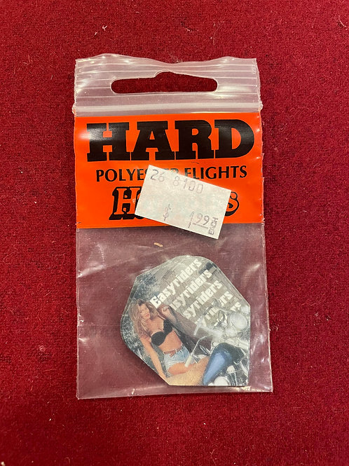 Harrows Hard Polyester Flights - Set of 3