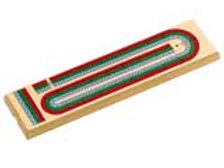 3 Tracks Cribbage Board