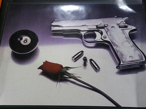 GUN AND ROSE