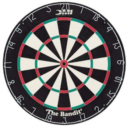 The Bandit Bristle Dartboard