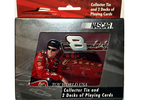 Nascar Collector Tin and 2 Decks of Playing Cards