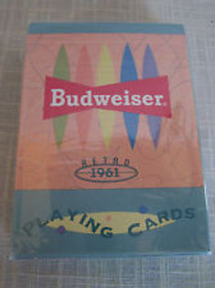 Budweiser Retro 1961 Playing Cards
