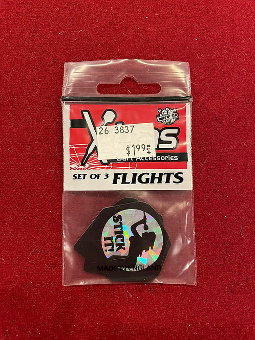 """X-tras """"Dart World"""" Stick It Flights"""