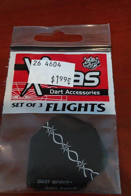 "X-tras ""Dart World"" Flights"