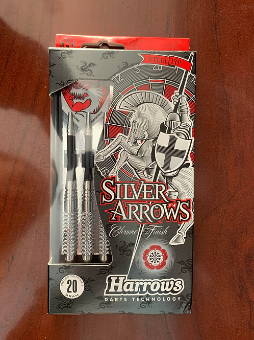 Harrows Silver Arrows Set of 20g Darts
