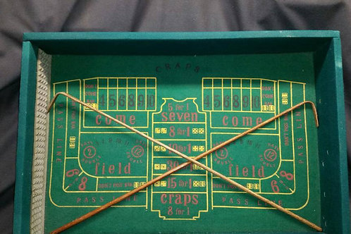 Craps Table (Croupier sticks NOT INCLUDED)