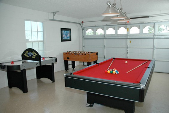 A gameroom or family room addition