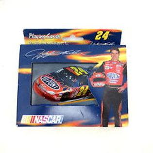 NASCAR: Jeff Gordon #24 Playing cards W/ Case
