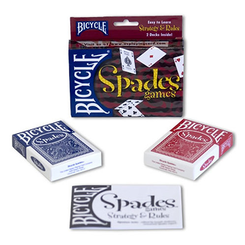Bicycle Spades Games