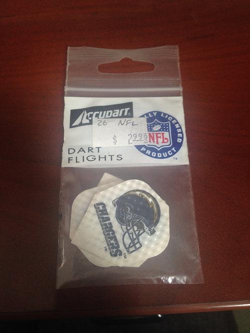 NFL Dart Flights - Standard Shape - Chargers