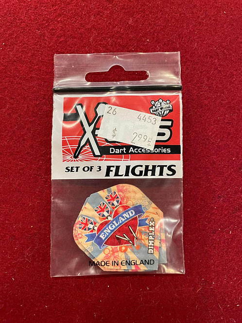 "X-tras ""Dart World"" England Flights"