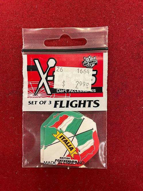 "X-tras ""Dart World"" Italia Flights"