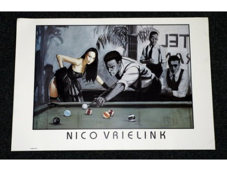 Billiards Art has for years been collected