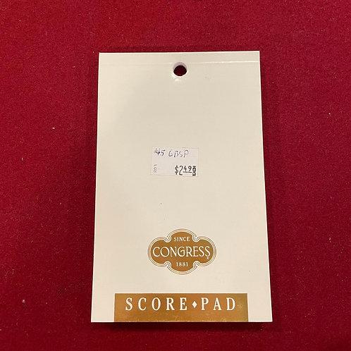 Score Pad