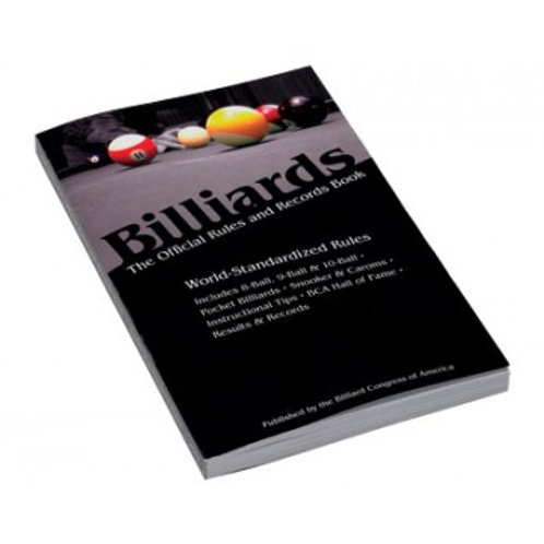 BILLIARDS- The Official Rules and Records Book
