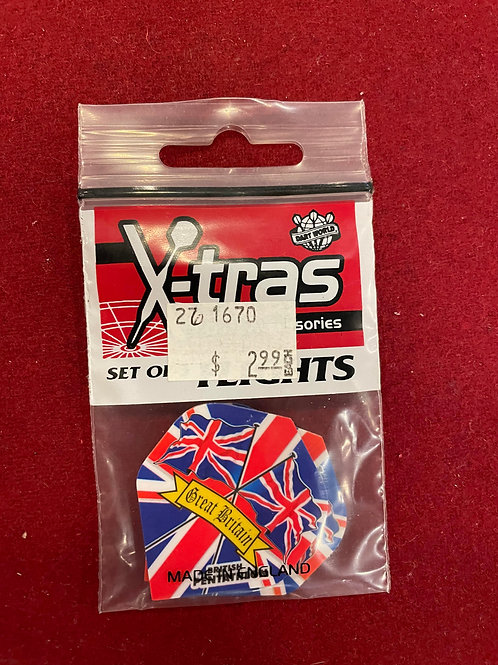 "X-tras ""Dart World"" Great Britain Flights"