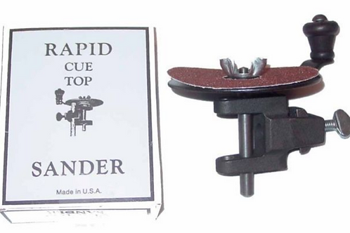 RAPID CUE TOP SANDER WITH REPLACEMENT DISCS