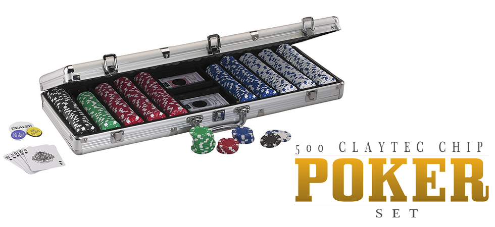 Claytec Poker Chips