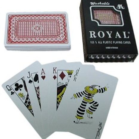 Royal All Plastic Playing Cards